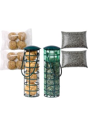 DOBAR Set: Futterspender »Tray«, 2 Stk. gefüllt, inkl. 4 Nachfüllpacks kaufen
