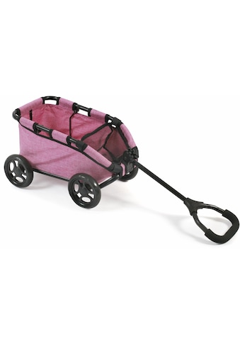 """CHIC2000 Puppen Ziehwagen """"Skipper, pink"""", (1 - tlg.) kaufen"""