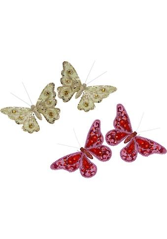 I.GE.A. Dekofigur »Deko - Schmetterling mit Clip« kaufen