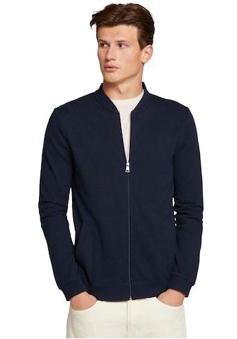 TOM TAILOR Denim Sweatjacke, in Blousonform kaufen