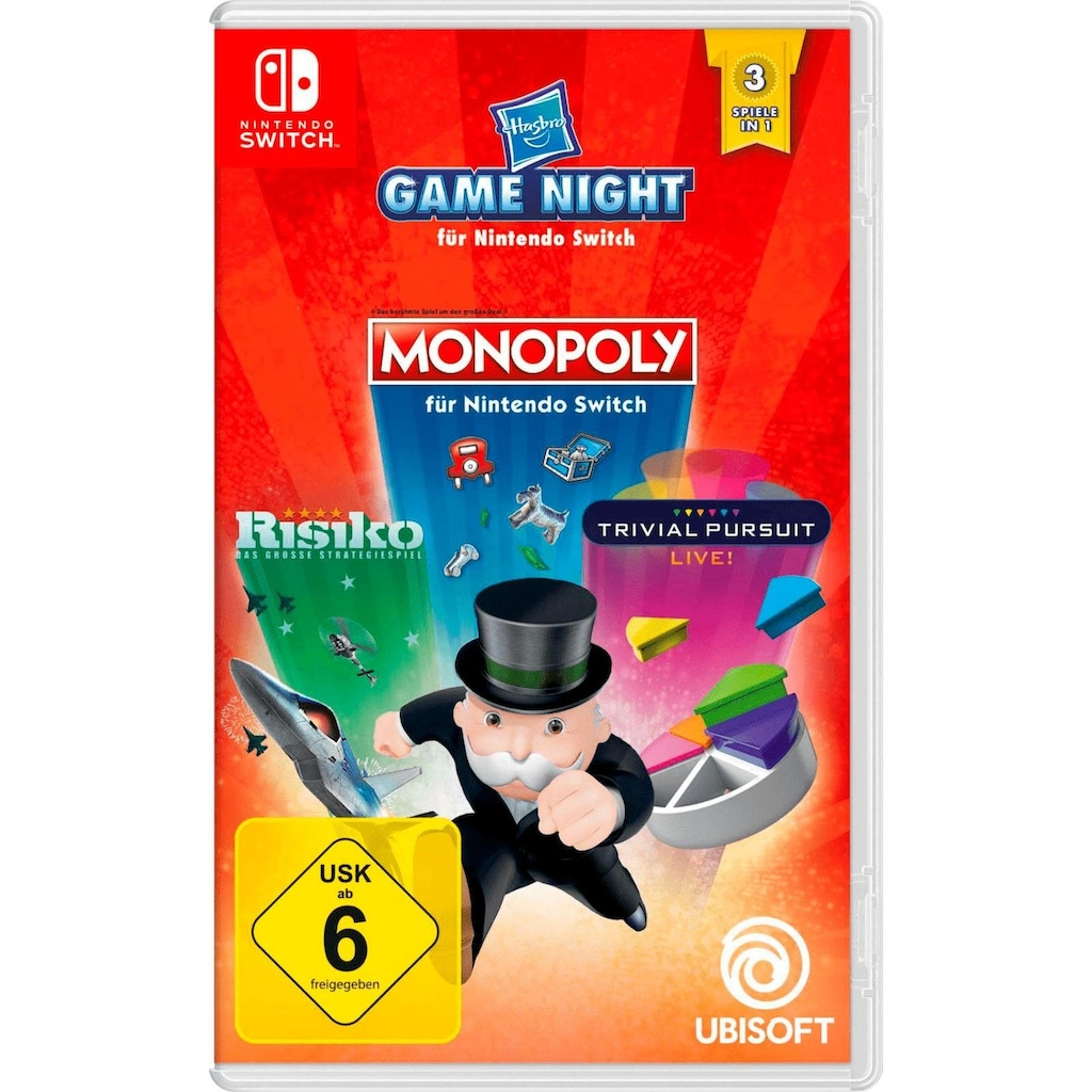 UBISOFT Spiel »HASBRO GAME NIGHT«, Nintendo Switch, Software Pyramide