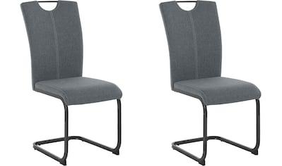 Homexperts Esszimmerstuhl »Viva«, (2 oder 4 Stück), Bezug in Webstoff, Metallgestell... kaufen