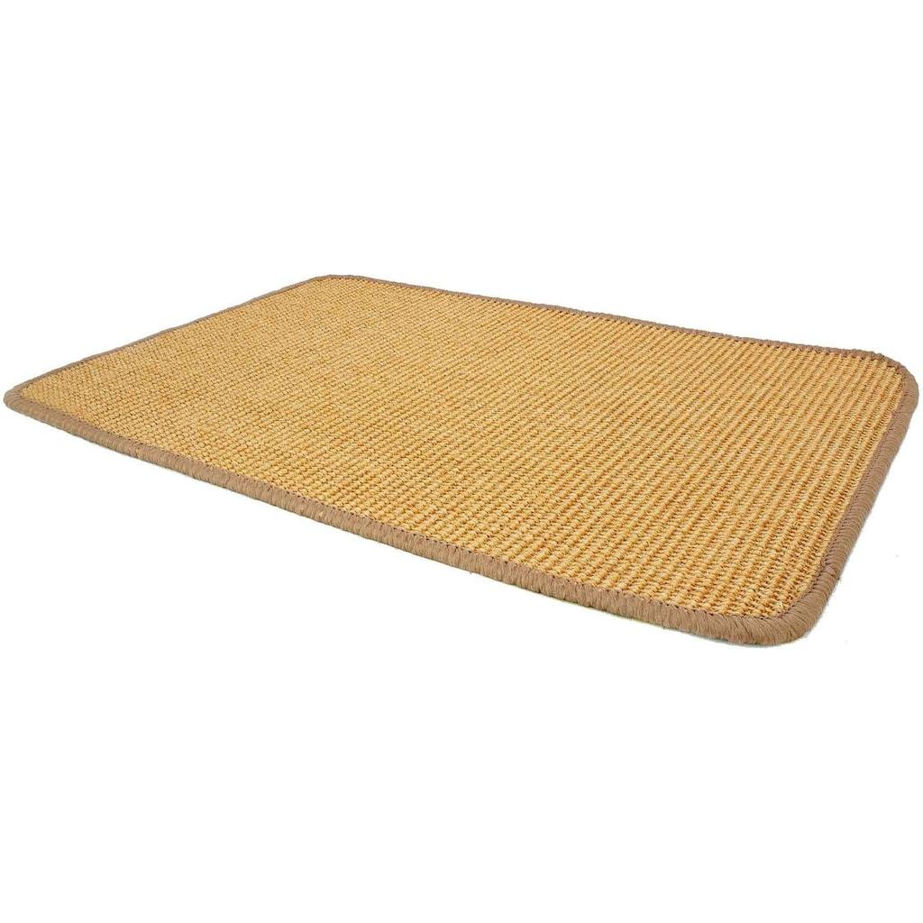 Primaflor-Ideen in Textil Sisalteppich »SISALLUX«, rechteckig, 6 mm Höhe, Obermaterial: 100% Sisal, Wohnzimmer