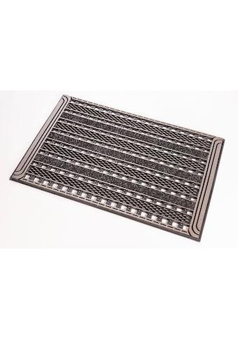 CarFashion Fußmatte »GC Clean Gridiron«, rechteckig, 8 mm Höhe, Schmutzfangmatte, In-... kaufen