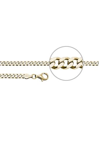 Der Kettenmacher Silberkette »Panzerkette diamantiert, ca. 4,0 mm breit, P4-S, P4-G« kaufen