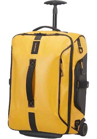 Samsonite Reisetasche »Paradiver Duffle 55, yellow mit Trolley- und Rucksackfunktion« kaufen
