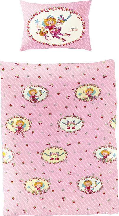 Kinderbettwäsche »Kirsche«, Prinzessin Lillifee | Kinderzimmer > Textilien für Kinder > Kinderbettwäsche | Rosa | Baumwolle | PRINZESSIN LILLIFEE