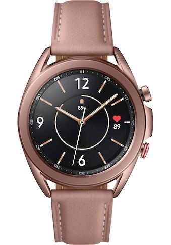 Samsung Galaxy Watch3, Edelstahl, 41 mm, LTE (SM - R855) Smartwatch (3 cm / 1,2 Zoll) kaufen