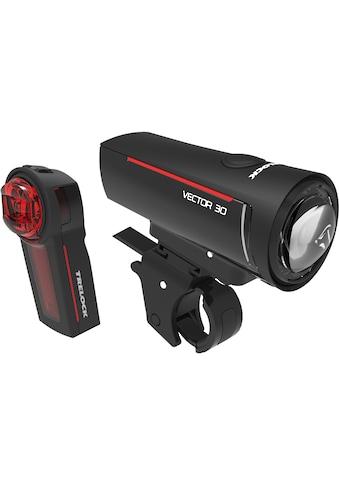 Trelock Fahrradbeleuchtung »LS 300 I-GO VECTOR 30/LS 740 VECTOR REAR SET«, (Front- und Rücklicht) kaufen