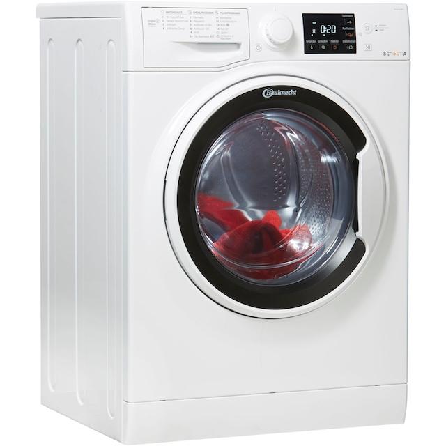 BAUKNECHT Waschtrockner WT Super Eco 8514, 8 kg / 5 kg, 1400 U/Min