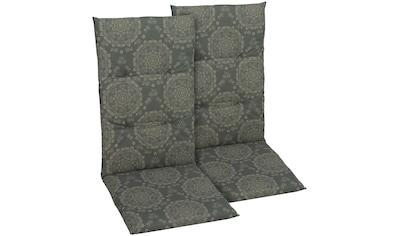 GO - DE Hochlehnerauflage , (2er Set), (L/B): ca. 118x48 cm kaufen