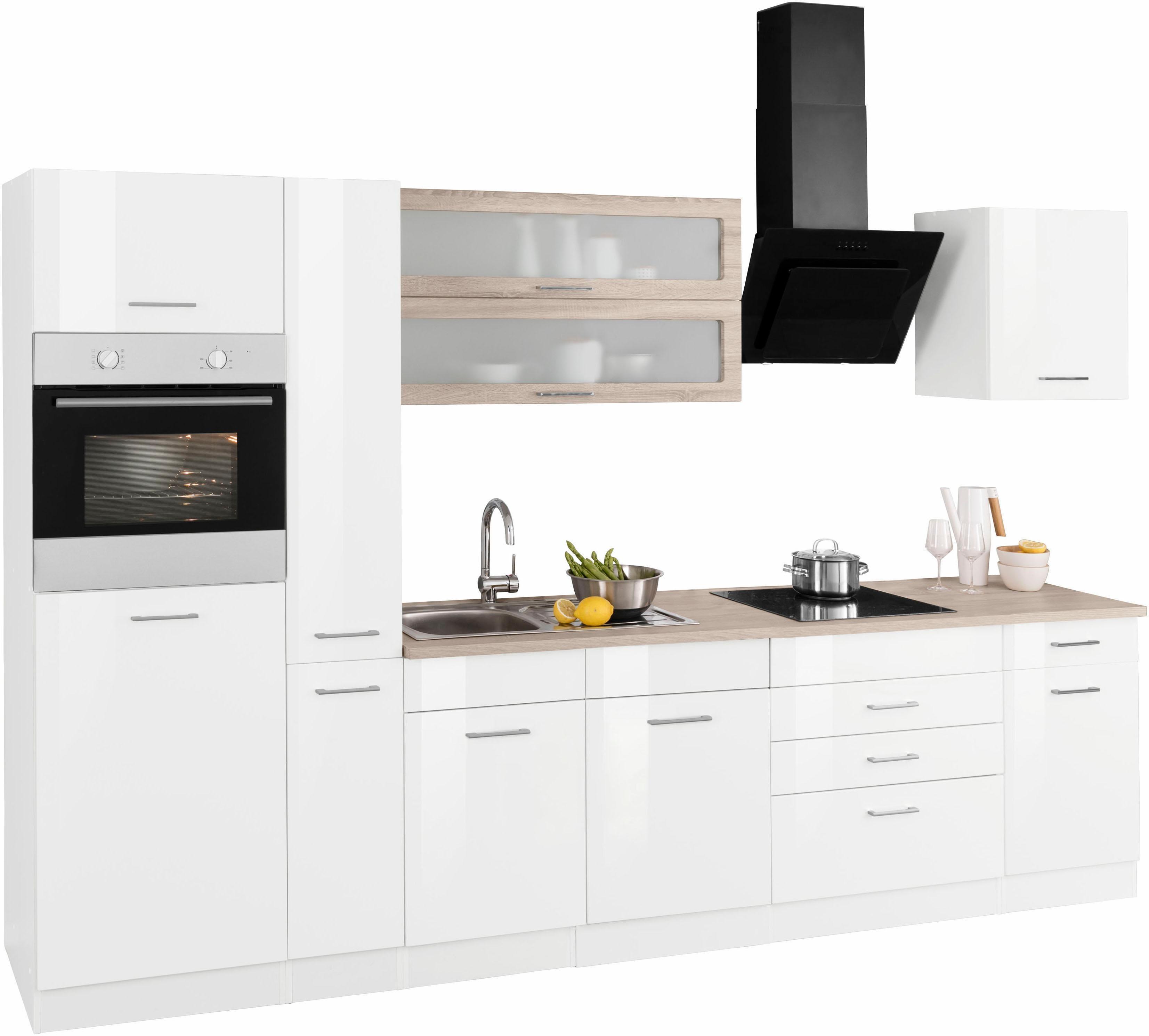 HELD MÖBEL Küchenzeile ohne E-Geräte »Utah«, Breite 320 cm   Moebel ...