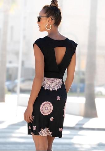 Beachtime Sommerkleid, mit Rückenausschnitt kaufen