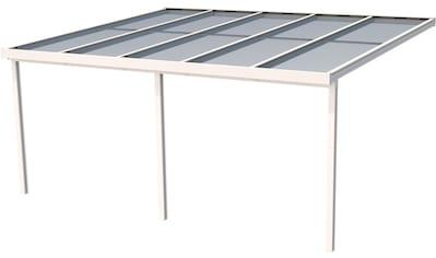 GUTTA Terrassendach »Premium«, BxT: 510x406 cm, Dach Polycarbonat bronce kaufen