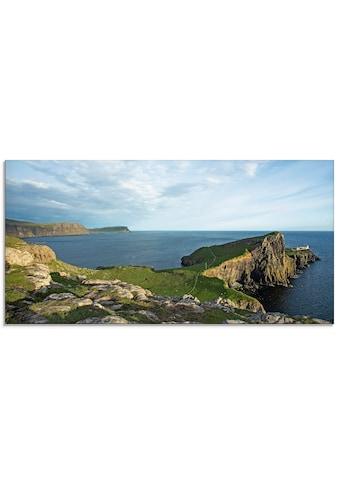 Artland Glasbild »Schottische Landschaft« kaufen