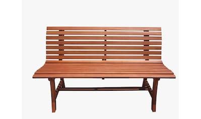Gartenbank »Moreno«, Eukalyptus, 140x67x93 cm, braun kaufen