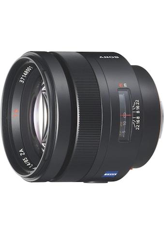 Sony Objektiv »Vollformat - Objektiv mit 85 mm Festbrennweite F1.4« kaufen