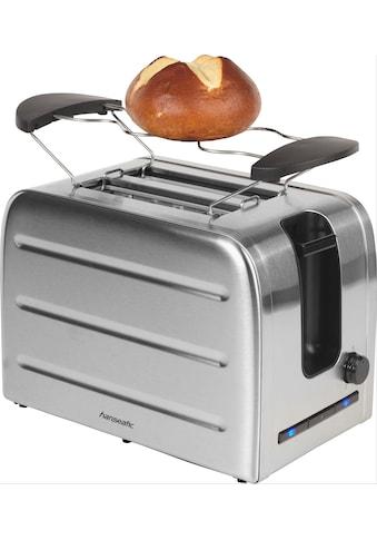 Hanseatic Toaster »36814853«, 2 kurze Schlitze, 1050 W kaufen