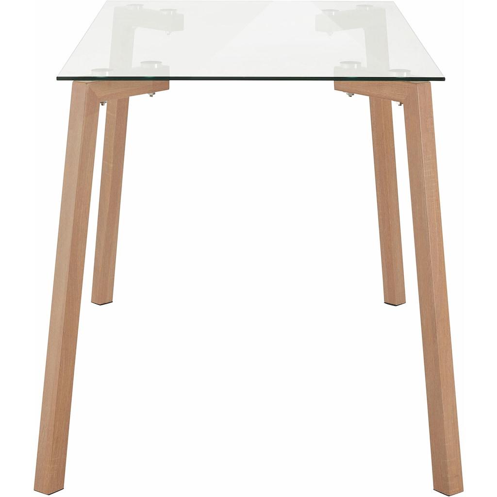 Paroli Esstisch, Breite 120 oder 140 cm