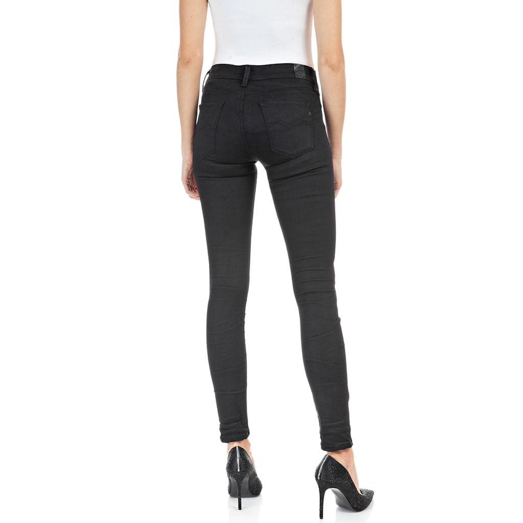 Replay Skinny-fit-Jeans »New Luz - Hyperflex re-used«, Nachhaltig - aus recycelten Materialien