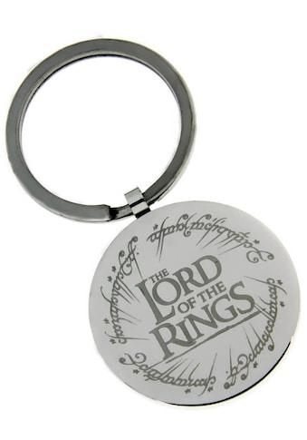 Der Herr der Ringe Schlüsselanhänger »THE LORD OF THE RINGS mit elbischen Runen, 20002178«, Made in Germany kaufen