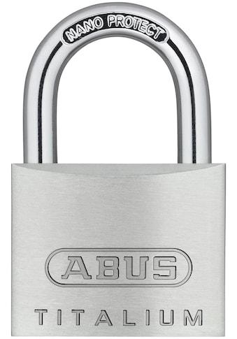 ABUS Vorhängeschloss »64TI/40«, Spezialaluminium und Stahlbügel kaufen
