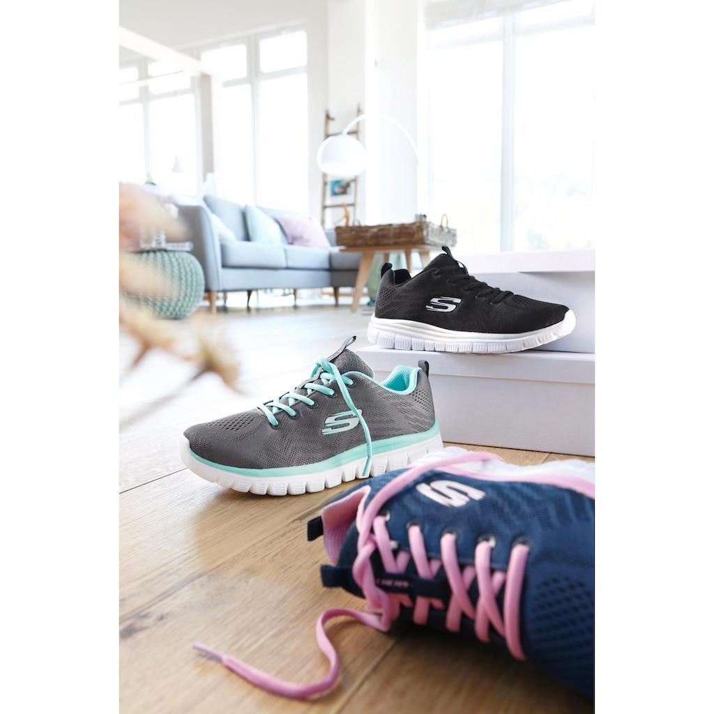 Skechers Sneaker »Graceful - Get Connected«, mit Dämpfung durch Memory Foam