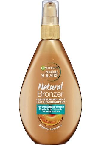 GARNIER Selbstbräunungsmilch »Ambre Solaire Natural Bronzer Milch« kaufen
