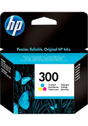 HP »hp 300 Original Cyan, Magenta, Gelb« Tintenpatrone (1 - tlg.) kaufen