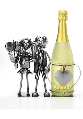 locker Weinflaschenhalter »Brautpaar« kaufen