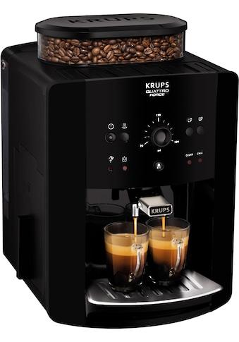 Krups Kaffeevollautomat EA8110 Arabica Quattro Force, 1,8l Tank, Kegelmahlwerk kaufen