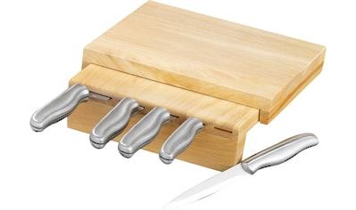 Esmeyer Messerblock »Corona«, 6 tlg., auch zur Wandbefestigung geeignet kaufen
