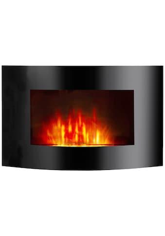 El Fuego Elektrokamin »Zürich«, schwarz, mit Fernbedienung und LED Beleuchtung kaufen