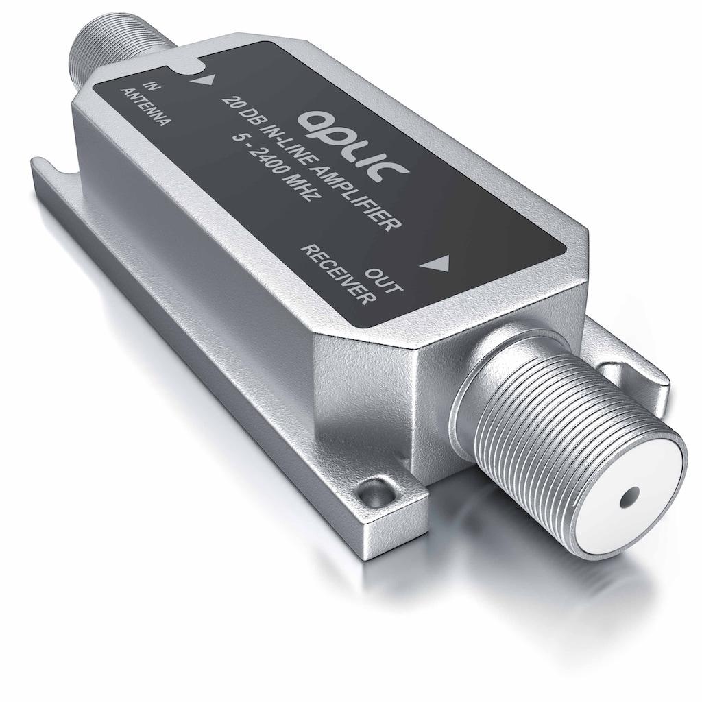 Aplic Verstärker »Inlineverstärker / 5 MHz – 2400 MHz«, 20 dB