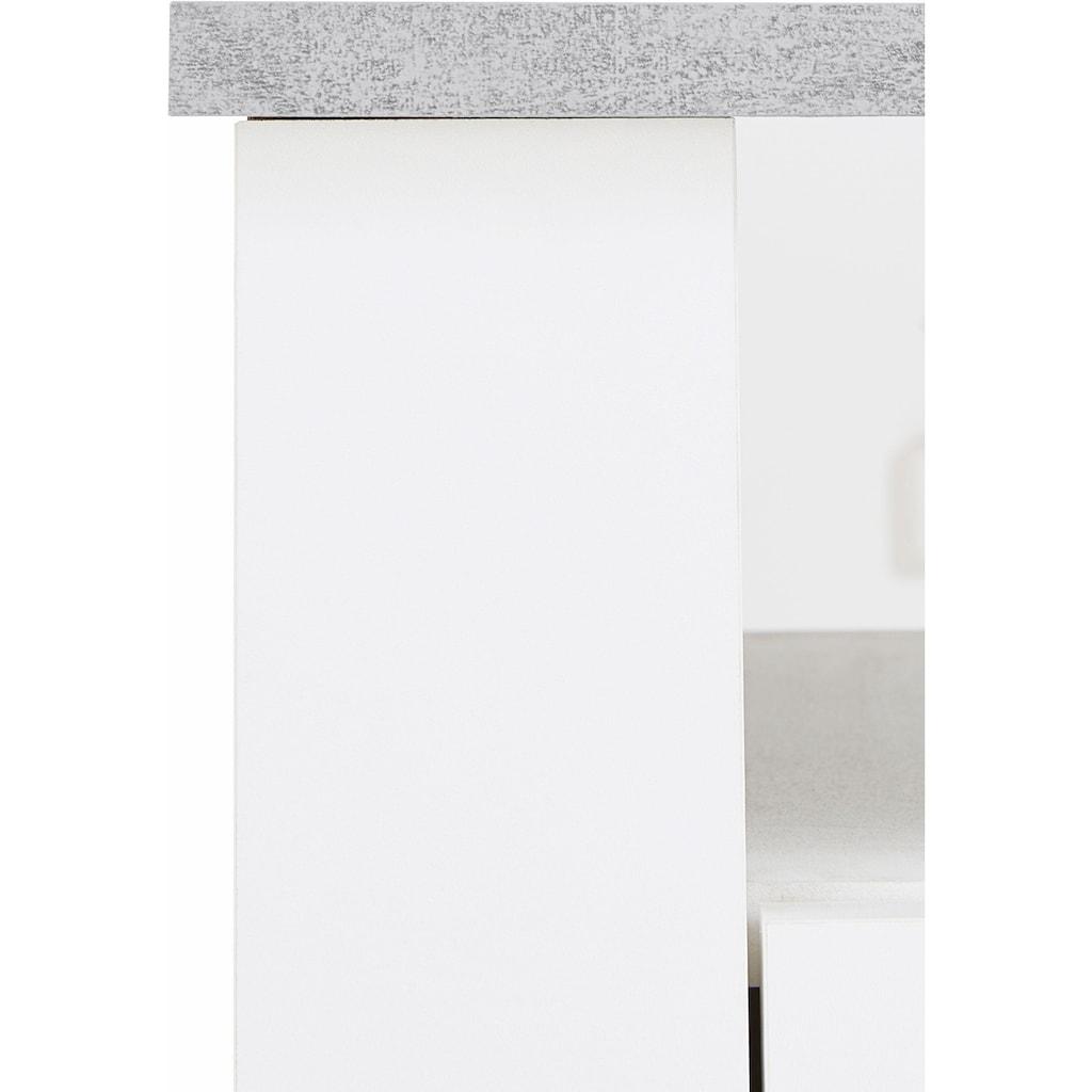 Homexperts Lowboard »Zabona«, Breite 165 cm