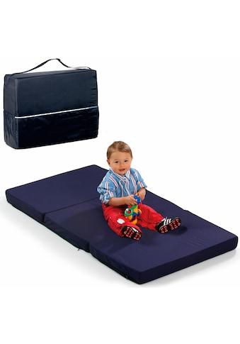 Hauck Klappmatratze »FUN FOR KIDS, Sleeper Uni Navy, 60x120 cm«, 6 cm cm hoch, (1... kaufen