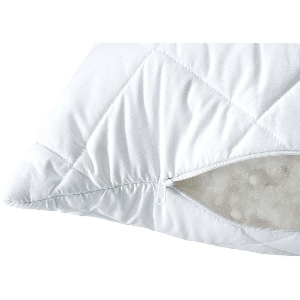 SEI Design Microfaserkissen »Classic Dream«, Füllung: 100% Polyester, Bezug: 100% Polyester, (1 St.), für Allergiker geeignet