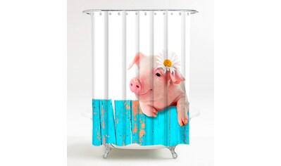 Sanilo Duschvorhang »Schwein«, Breite 180 cm kaufen