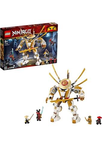 "LEGO® Konstruktionsspielsteine ""Goldener Mech (71702), LEGO® NINJAGO®"", Kunststoff, (489 - tlg.) kaufen"