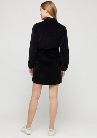 MAZINE Blusenkleid »Juno«, cooles Hemdblusenkleid aus Cord-Qualität mit Gürtel und... kaufen
