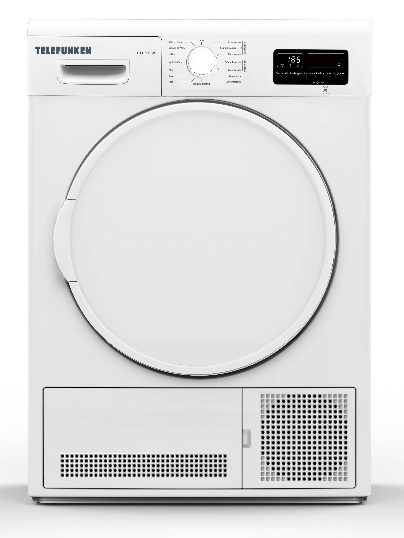 Telefunken Kondenstrockner (7 kg / B / weiß) »T-11-300-W«   Bad > Waschmaschinen und Trockner > Kondenstrockner   Telefunken