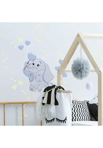 Wall - Art Wandtattoo »Elefantenbaby Leuchtsticker« (1 Stück) kaufen