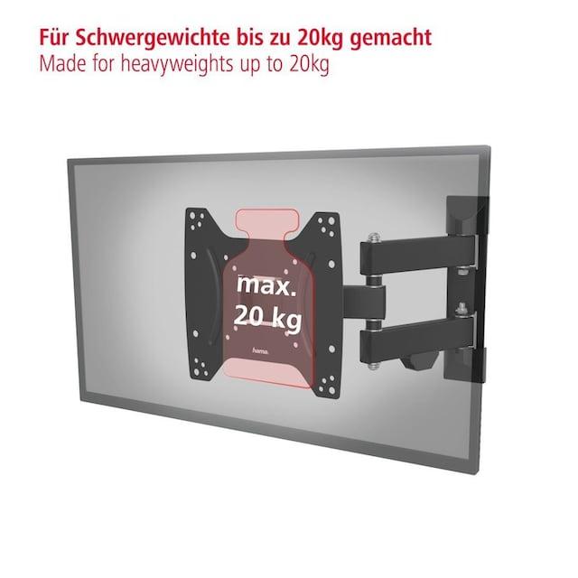 Hama TV Wandhalter vollbeweglich schwenkbar neigbar ausziehbar »122cm, 48 Zoll 200x200 2 Arme«