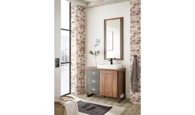 Home affaire Badmöbel-Set »Detroit«, (Set, 2 St.), inklusive Aufsatzwaschbecken aus... kaufen