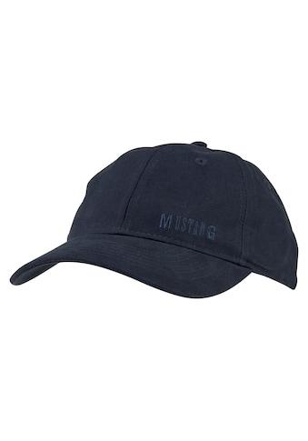 MUSTANG Baseball Cap, Logo-Stitching kaufen
