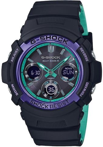 CASIO G - SHOCK Chronograph »AWG - M100SBL - 1AER« kaufen