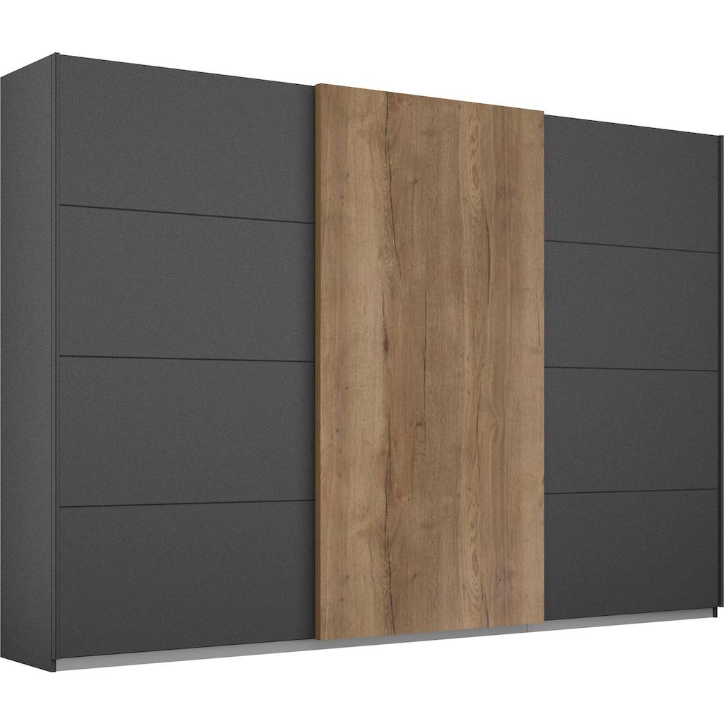 rauch ORANGE Schwebetürenschrank »Halifax«, mit 50 mm starken Türen im Holzdekor