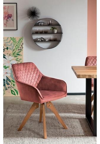 SalesFever Armlehnstuhl, 180° Drehplatte unter der Sitzfläche kaufen