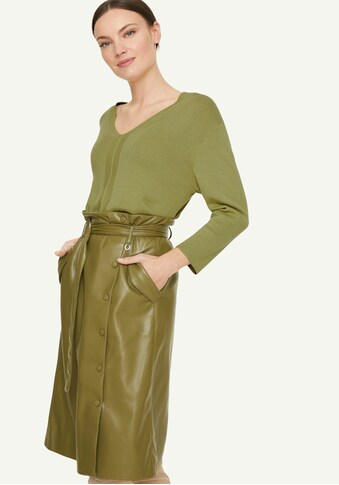 Comma V-Ausschnitt-Pullover, mit überschnittenen Schultern kaufen