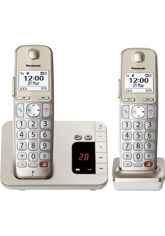 Panasonic Schnurloses DECT-Telefon »KX-TGE262GN«, (Mobilteile: 2) kaufen